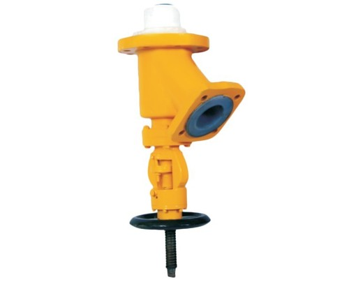 PTFE Lined Flush Bottom Valve