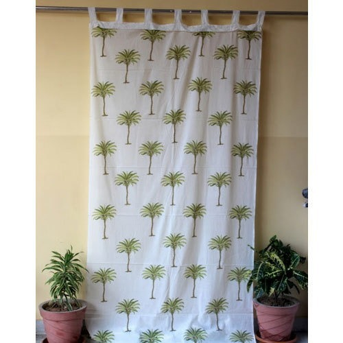Hand Block Print Curtain Fabric