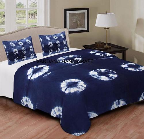 Tie Dye Cotton Bed Cover