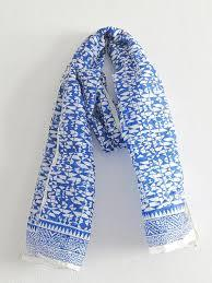 Blcok Print Cotton Scarf