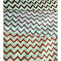 Zik Zak Print Fabric