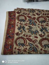 Kalamkari Bagru Cotton Fabric