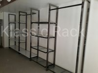 Gold polish showroom rack