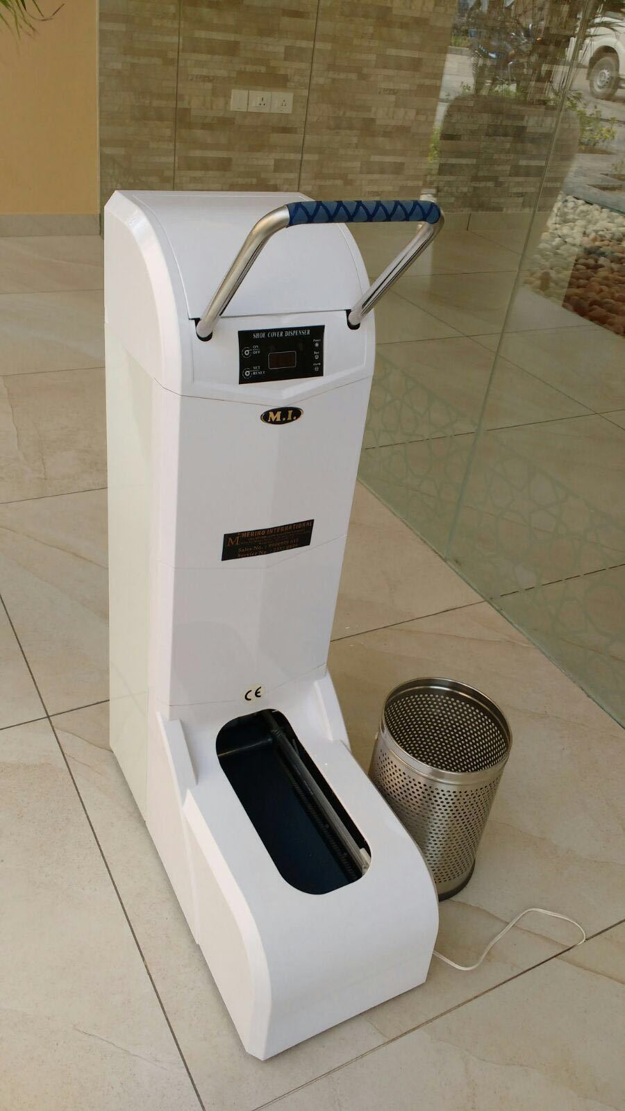 Surgical Shoe Cover Dispenser