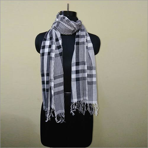 Ladies Checkered Scarves