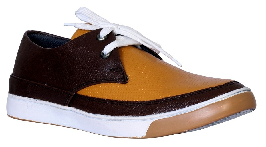 CASUAL SHOES FOR MEN'S WITH DOUBLE COLOUR SOLE
