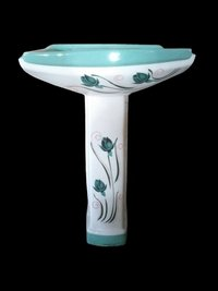 Vitrosa Wash Basin With Pedestal