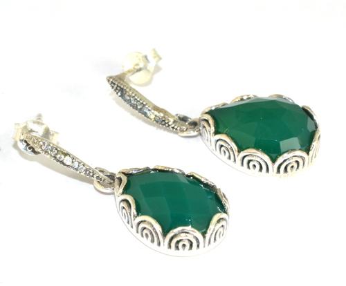 Sterling 925 Silver Traditional Designer Stud Earrings