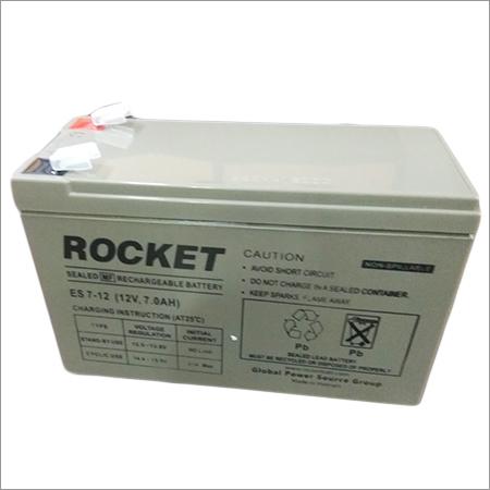 Rocket 12V 7AH SMF Battery
