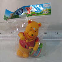 Wind up Pooh Drummer Toy