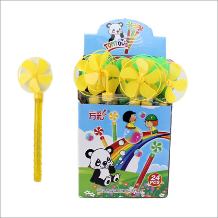Windmill Plastic Bubble Stick