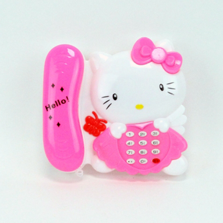 Kitty Musical Telephone Toy