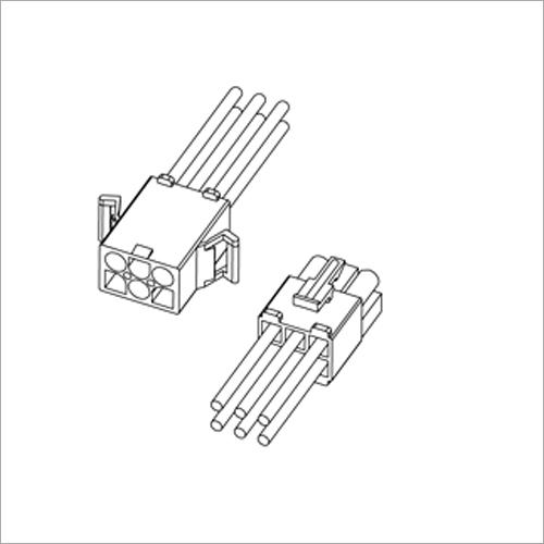 6.7 mm Pitch Wire to Wire Connectors