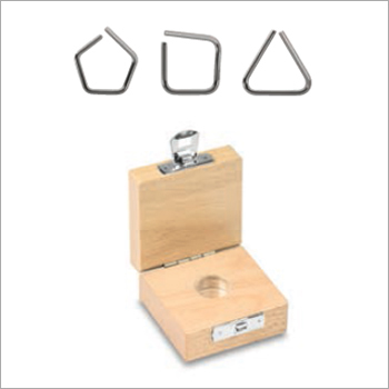 Milligram Weights, Wire Shape, Stainless Steel