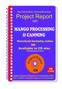 Mango Processing and Canning manufacturing eBook