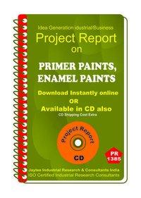 Primer Paints, Enamel Paints manufacturingeBook