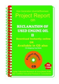 Reclamation of Used Engine Oil II manufacturing eBook