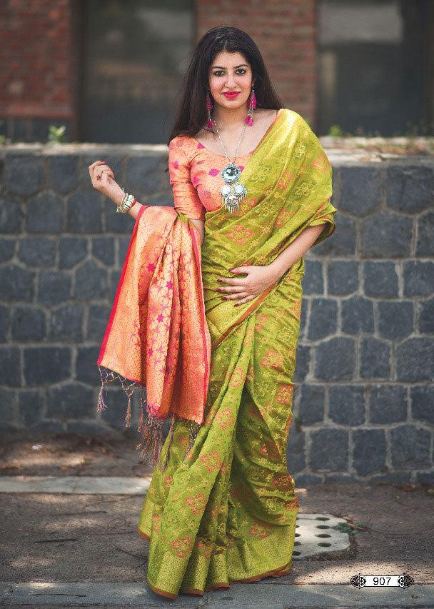 Sethnic patola style silk saree wholesaler in surat market
