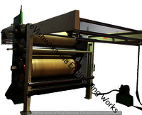 Two Roll Calender Machine