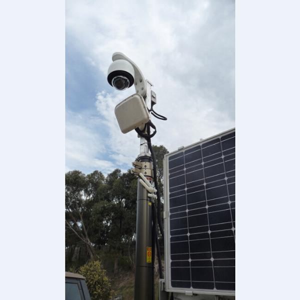 6m CCTV Pneumatic Telescopic Mast