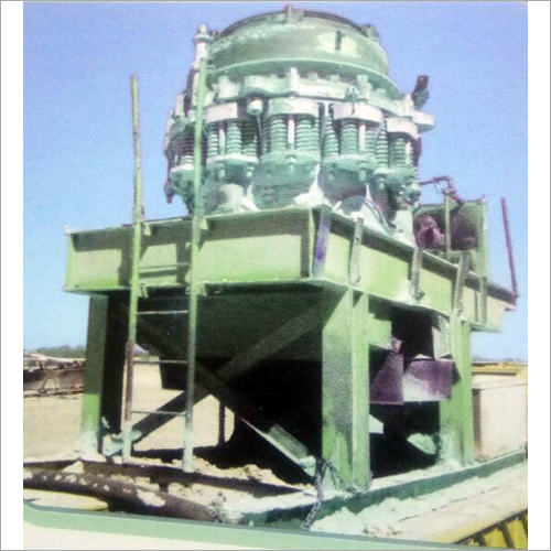 Cone And Roll Crusher Machine