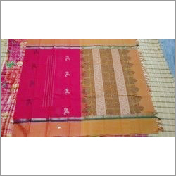 Fancy Cotton Handloom Sarees
