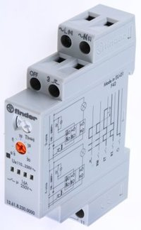 Multifunction Step/Monostable Relay