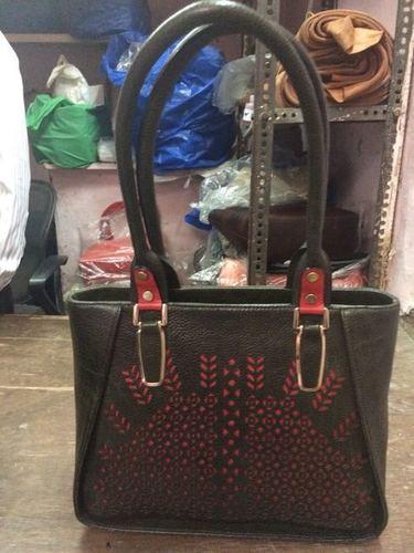 Ladies Printed Leather Bags