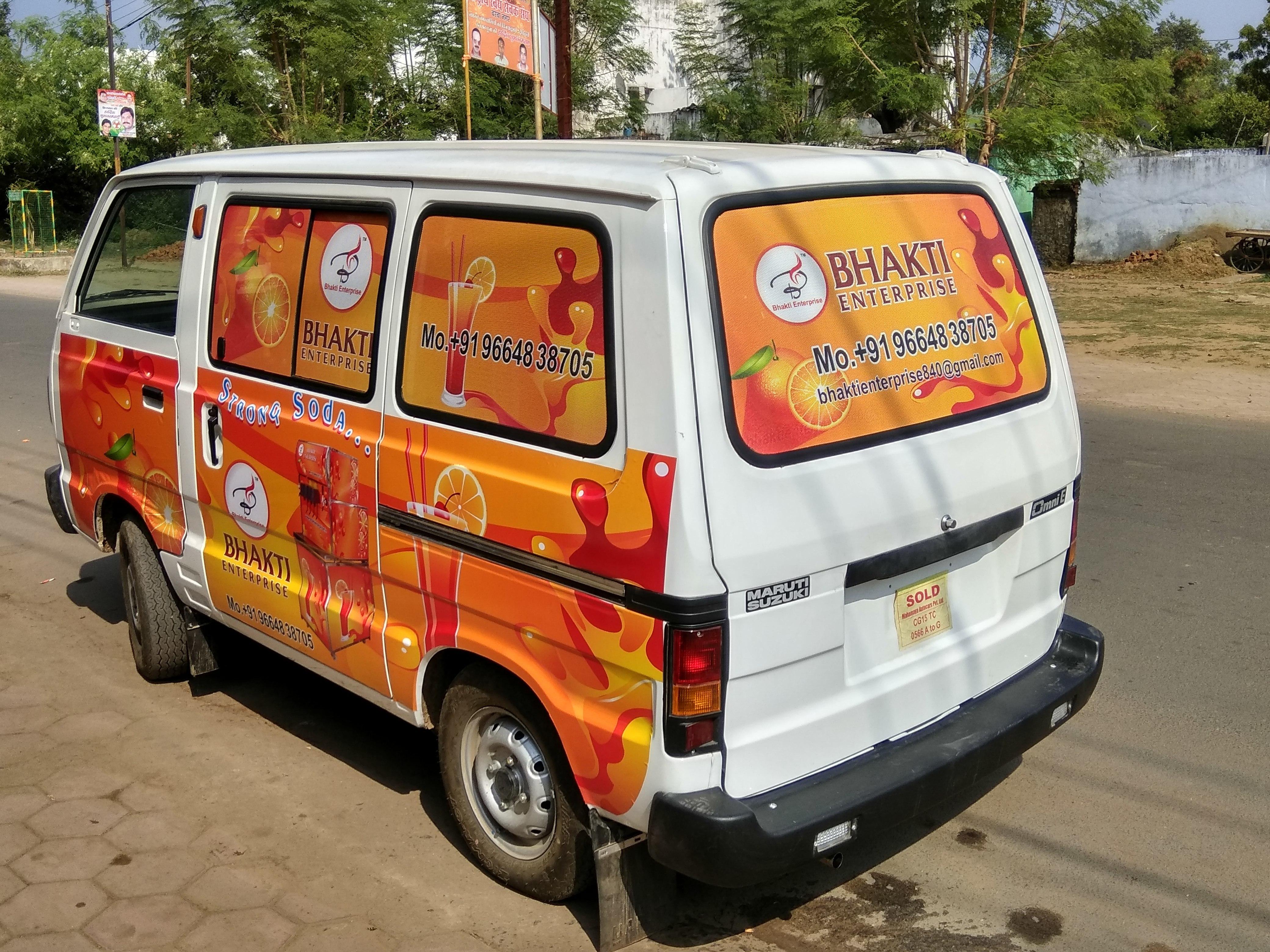 Mobile Soda Fountain Machines (Maruti Van)
