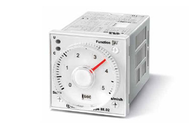 Plug-in / Front of panel mount Timers
