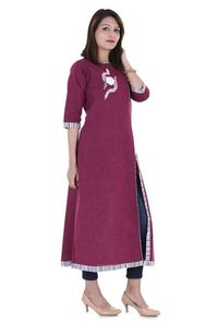 Georgette Cotton Kurtis