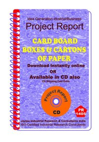 Card Board Boxes and Cartons of Paper manufacturing eBook