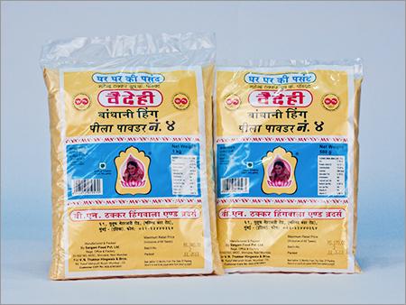 Yellow Bandhani Hing Powder