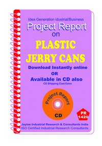 Plastic Jerry Cans manufacturing Project Report eBook