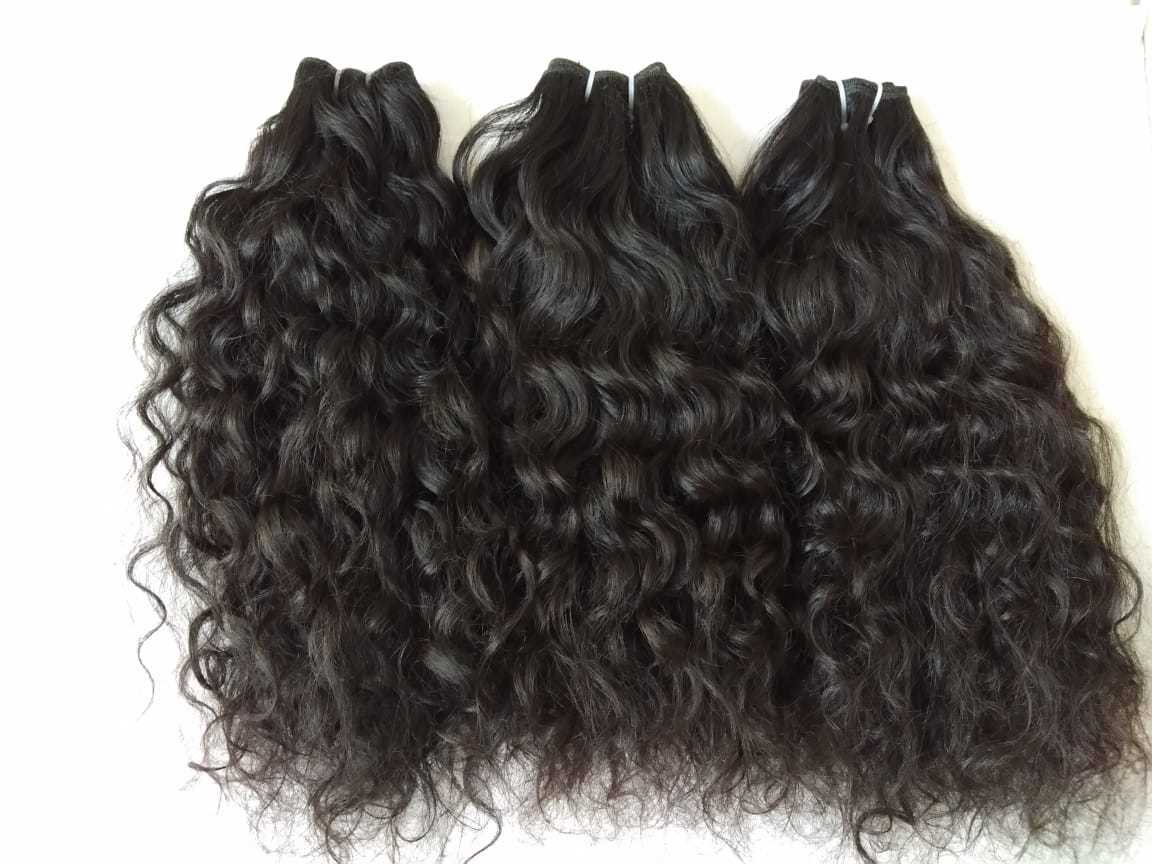 Wholesale Top Quality Remy Hair ,Raw Virgin Curly Extension
