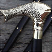 Fish Head Walking Cane
