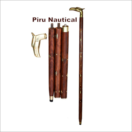Eagle Head Antique Walking Cane
