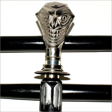 Jocker Head Handle Walking Stick