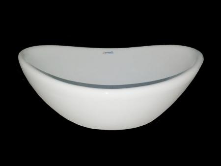 White Oval Shape Wash Basin