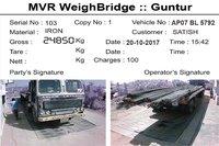 Camera Integrated Weighbridge