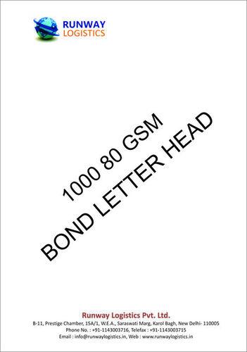 Ex Bond 80 GSM