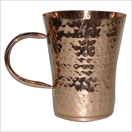 Beer Hammered Mug