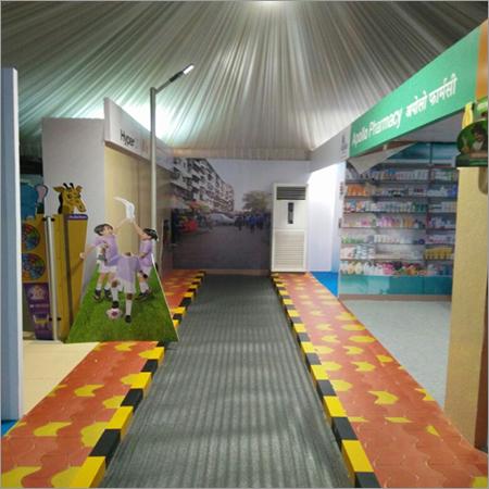Exhibition Stall Advertising modern trade