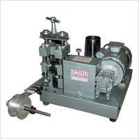 Chain Flatter Machine
