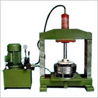 Semi Auto Hydraulic Plate Machine