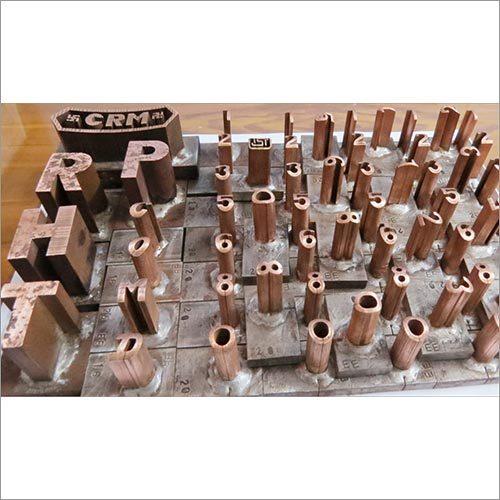 Tmt Roll Branding Alpha Neumerical Copper Electrodes
