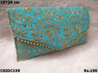 Embroidered Beautiful Clutch