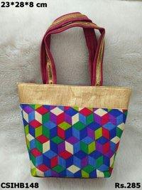 Raw Silk Hand Bags