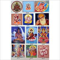 Devotional Glass Mosaic Tile