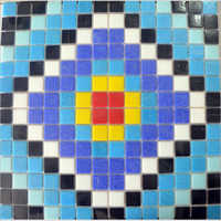 High Gloss Glass Mosaic Tiles